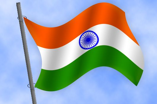 530x350 Indian Flag Picture, By Chandershekhar For Wave Your Flag Drawing