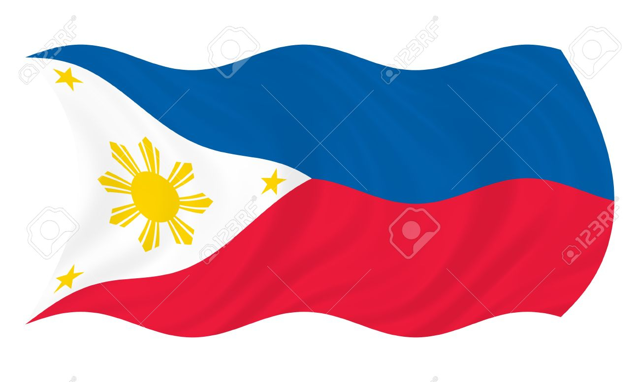 1300x777 Drawing Of Philippine Flag Illustration Of Philippines Flag Waving