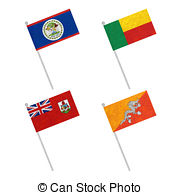 180x195 Flag Pole Recycled Paper Liberia Flag Waving On The Wind