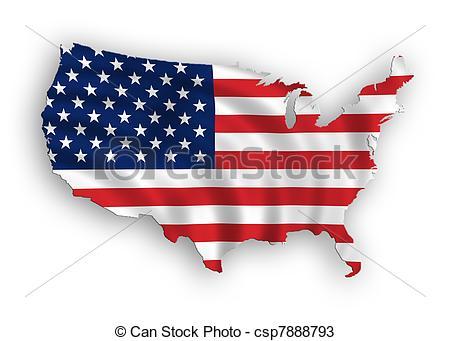 450x341 American Map Flag Waving. American Map Flag Waving Drawings