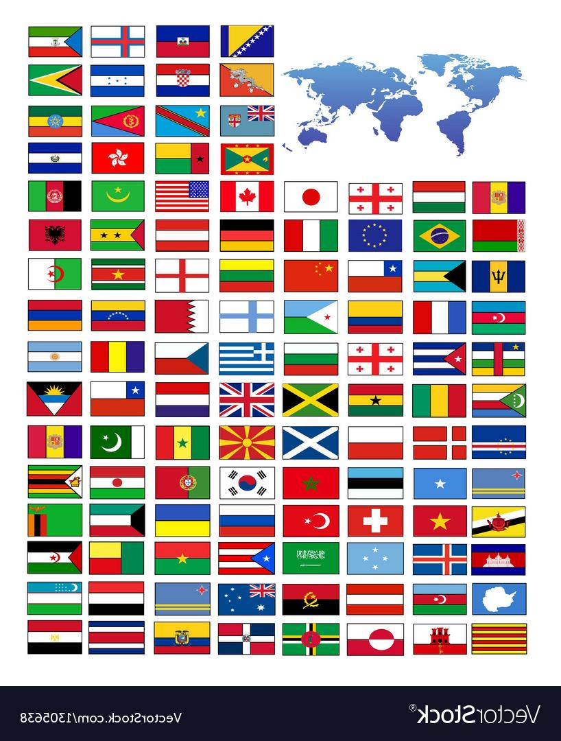 818x1080 Unique Flags Of The World Vector Drawing