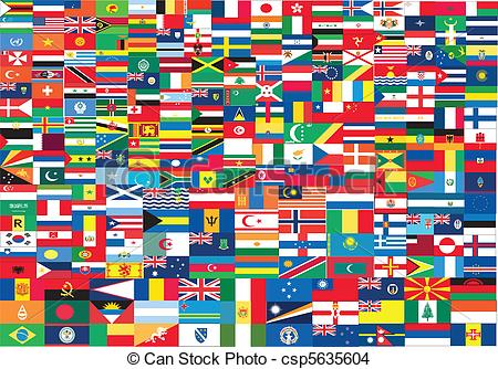 450x334 World Flags Set Clipart And Stock Illustrations. 18,069 World