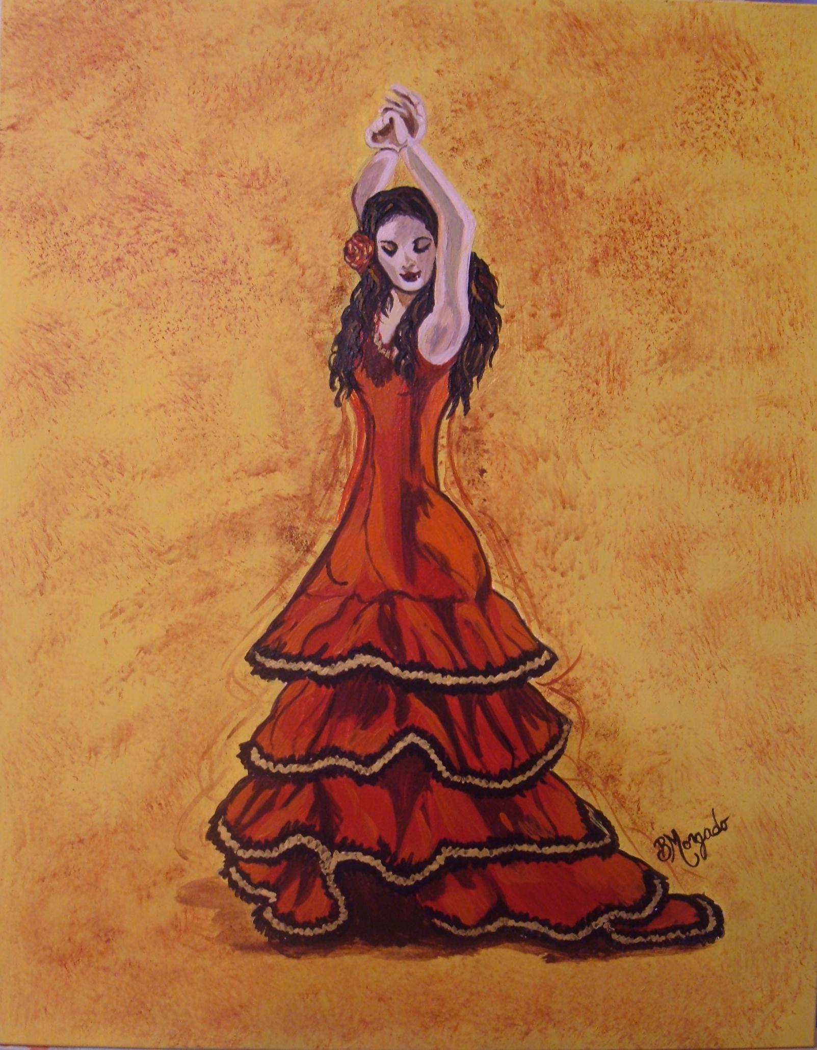 1603x2059 Flamenco Dancer 1 Brenda Morgado Foundmyself