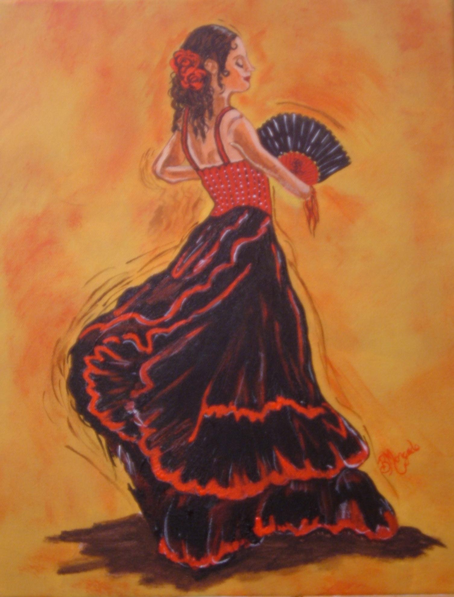 1506x1981 Flamenco Dancer 2 Brenda Morgado Foundmyself