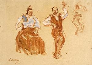 300x211 Flamenco Dancing Drawings Fine Art America