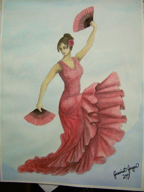 600x800 Flamenco Dancer By Piratecaptainjess