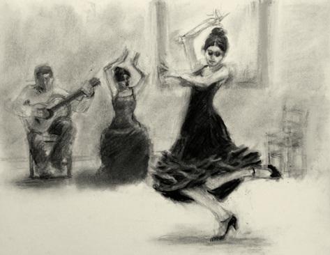473x366 Connie Chadwell's Hackberry Street Studio Flamenco Evening