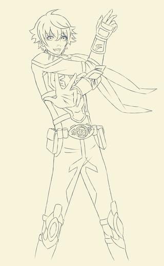 320x518 Lines For My Samurai Flamenco Drawing Of Masayoshi! I Love This