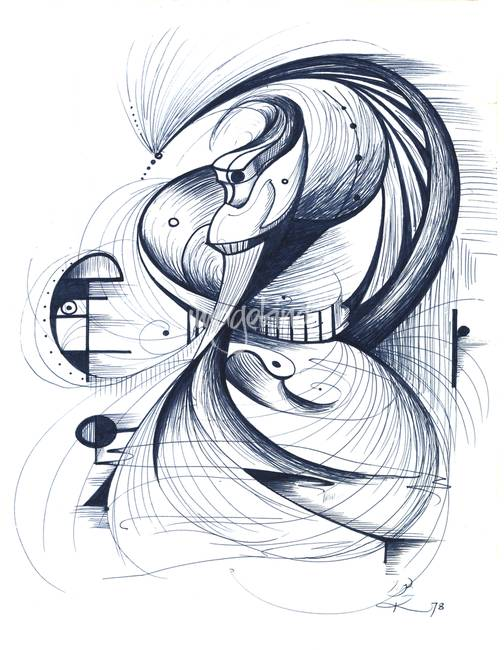 504x650 Stunning Flamenco Drawings And Illustrations For Sale On Fine
