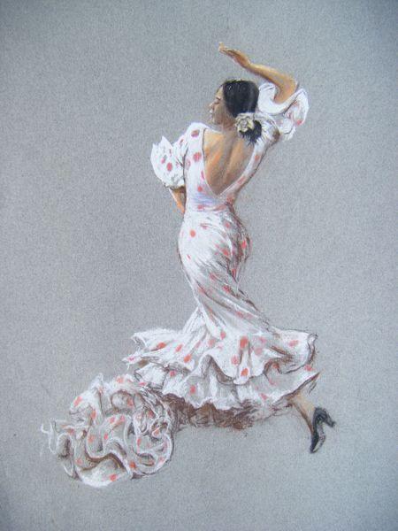 450x600 Drawings Flamenco Dancers