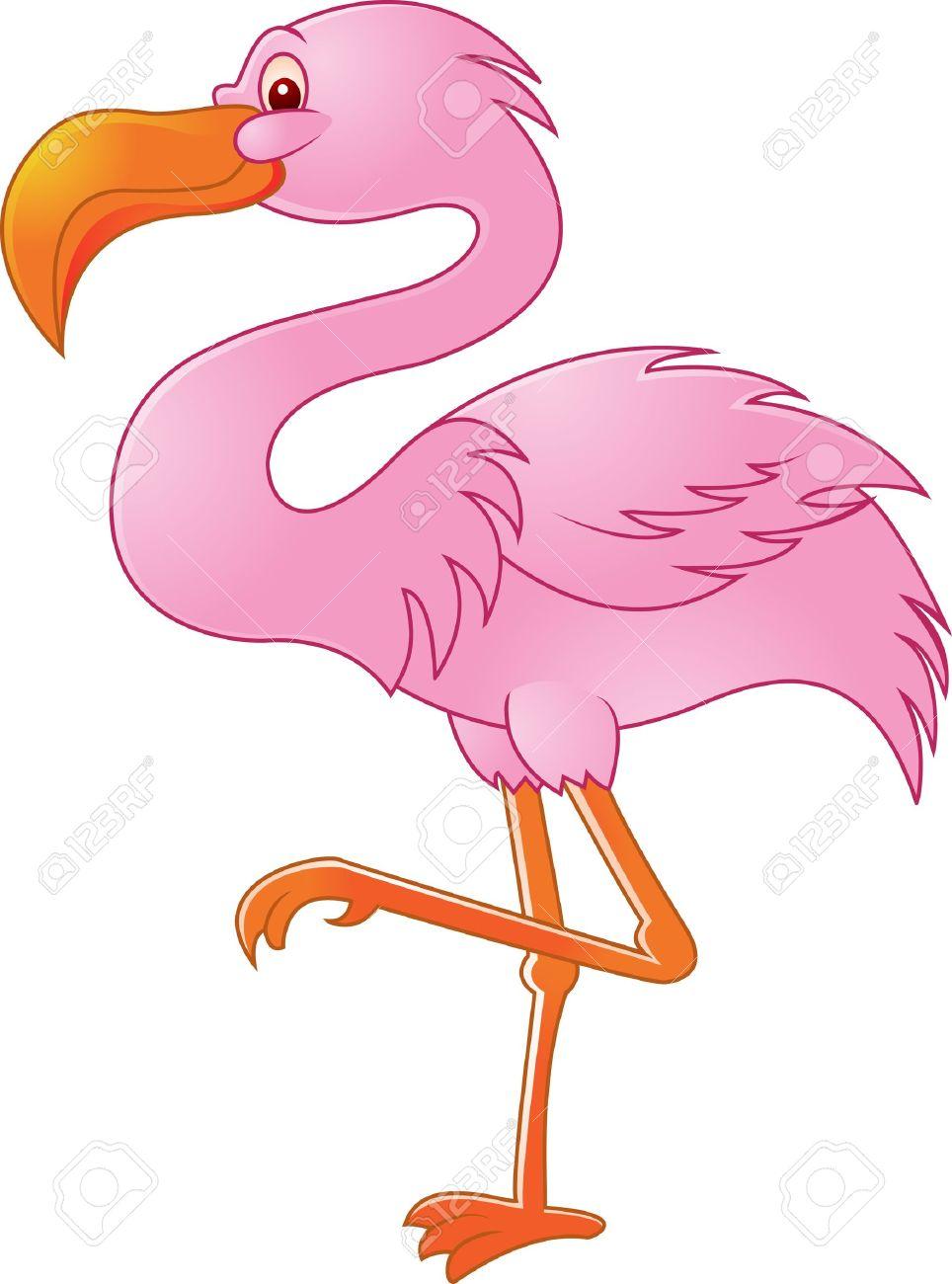 Flamingo Cartoon Drawing at GetDrawings.com | Free for personal use ...