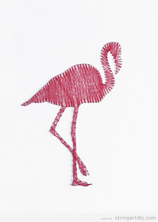Flamingo Drawing Template at GetDrawings.com | Free for personal use ...