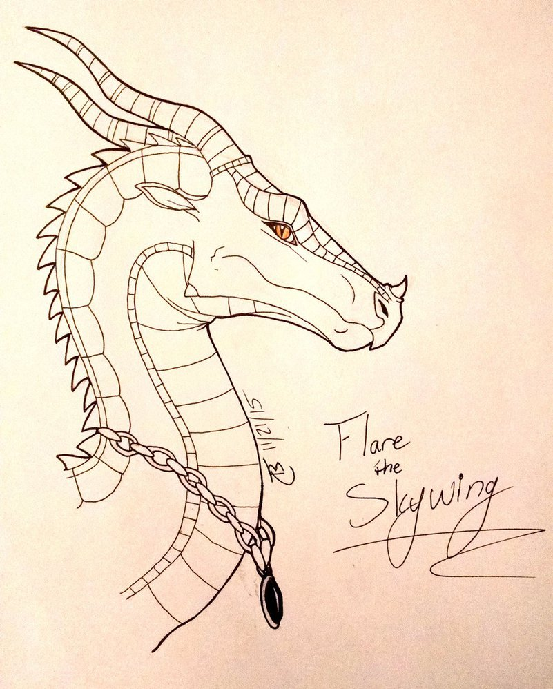801x998 Flare The Skywing (B Day Gift) By Spudbollercreations