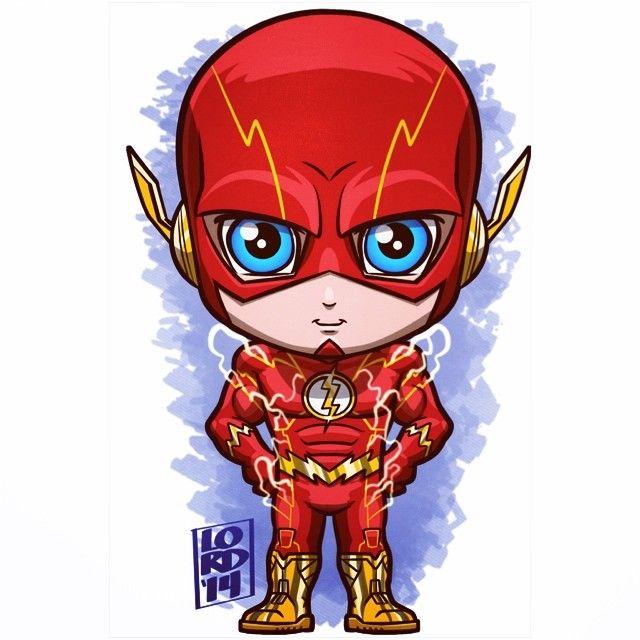 640x640 Chibi The Flash By Lordmesa Chibi Chibi, Comic