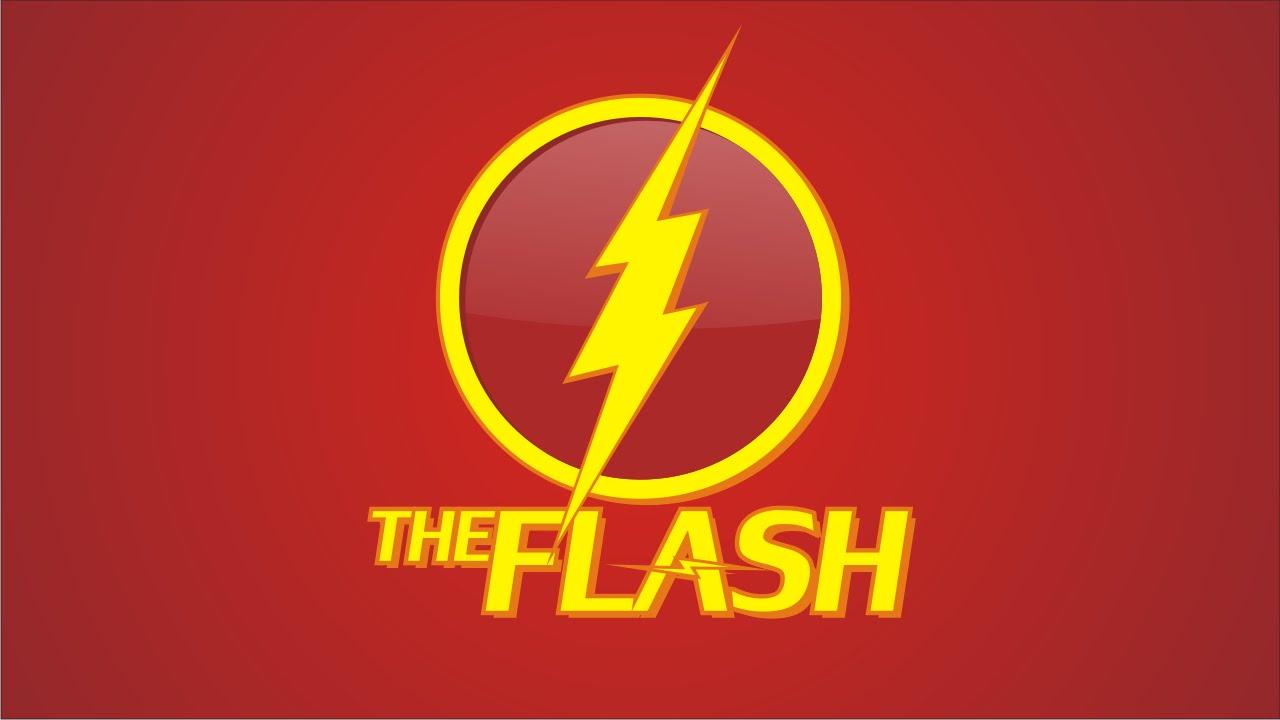 1280x720 Drawing The Flash Cw Logo With Coreldraw