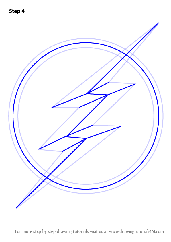 Flash Logo Drawing At Getdrawings Free For Personal Use Flash
