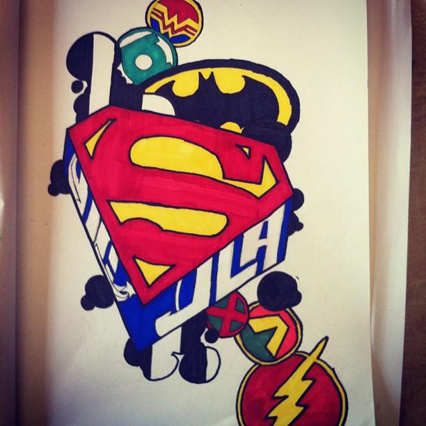 612x612 Best Photos Of Super Hero Logo Drawings