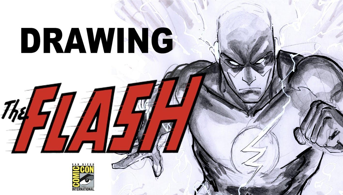1417x809 Drawing The Flash (With Freddie Williams Ii)