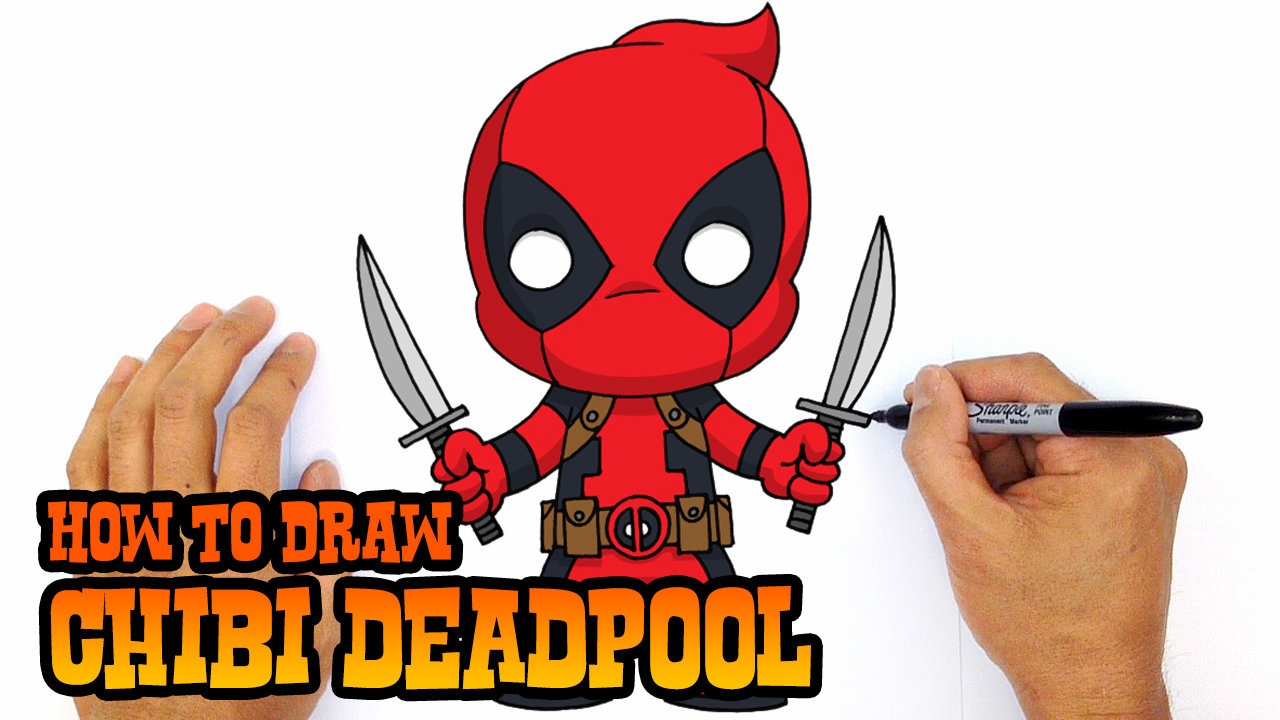 1280x720 How To Draw Flash (Chibi) Step By Step