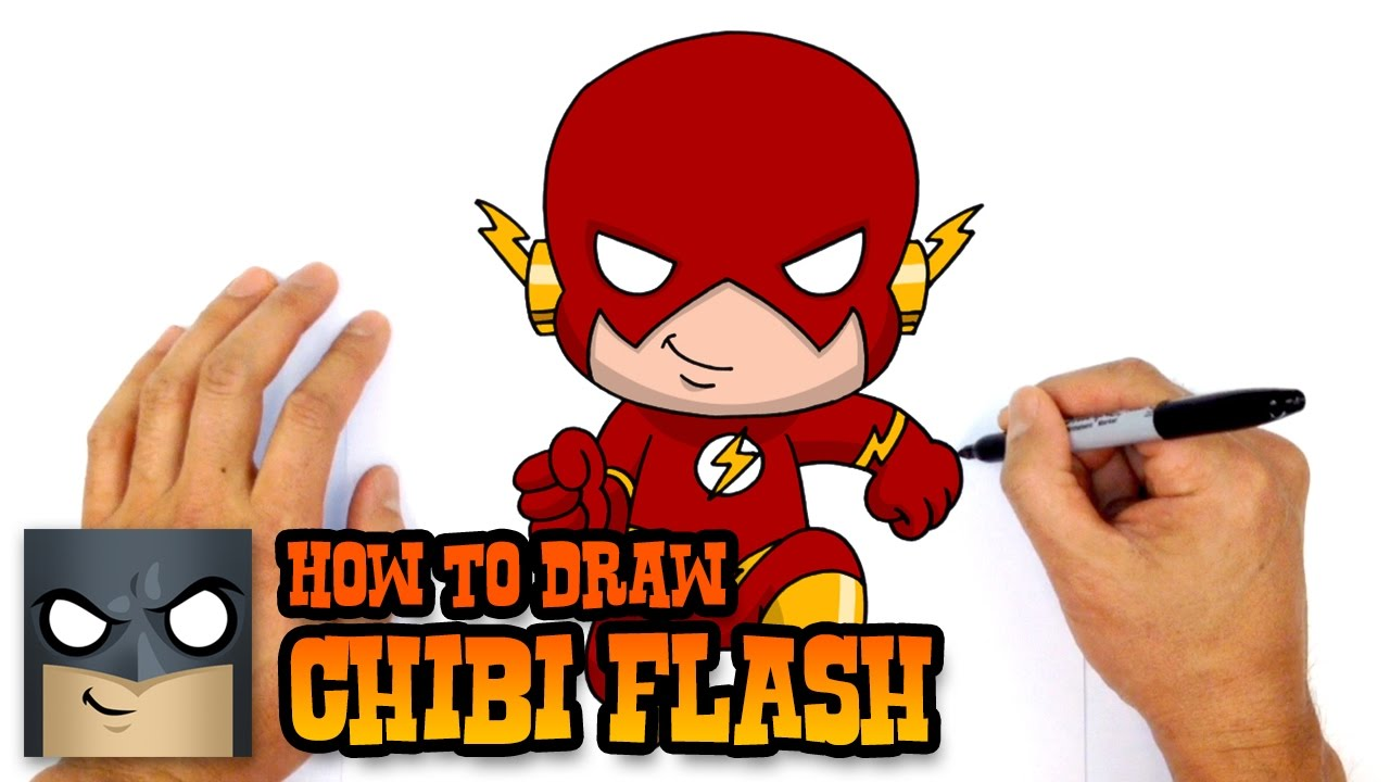 1280x720 How To Draw Flash Justice League