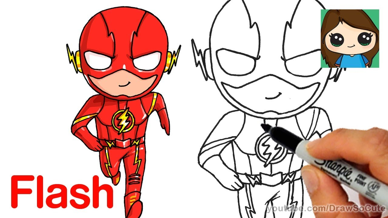 1280x720 How To Draw The Flash