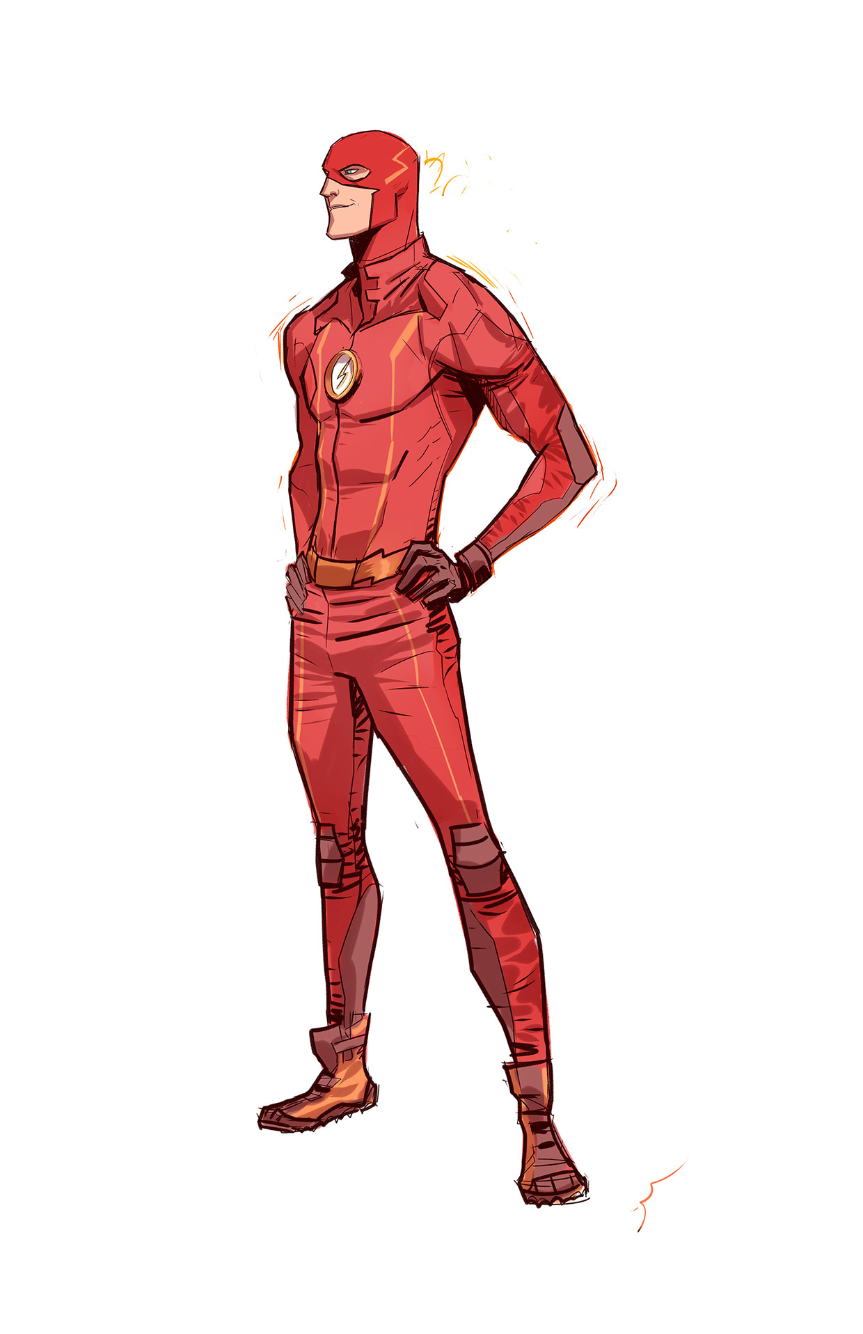 1240x1916 The Flash By Dan Mora Dc Comics Dan, Comic