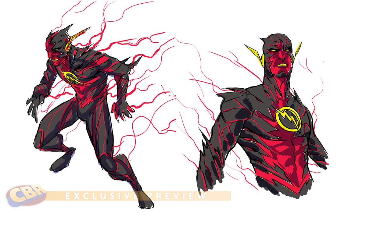 1200x827 Batman And Flash Comic Drawings The Flash 19 And Francis