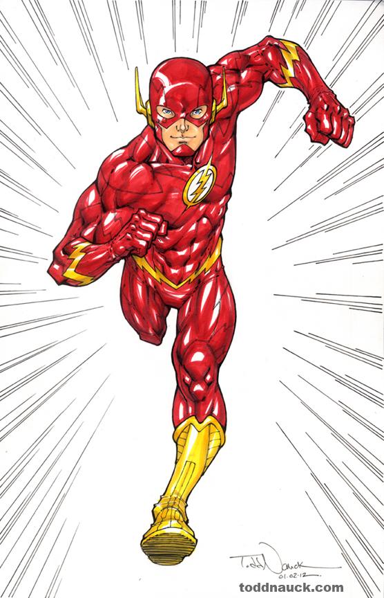 556x864 Superhero The Art Of Todd Nauck