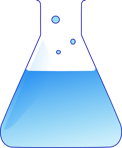 498x600 Chemistry Flask Clip Art