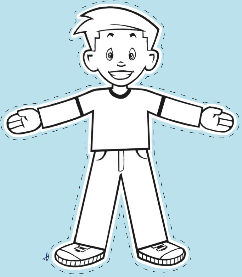 Flat Stanley Drawing at GetDrawings.com | Free for personal use Flat ...