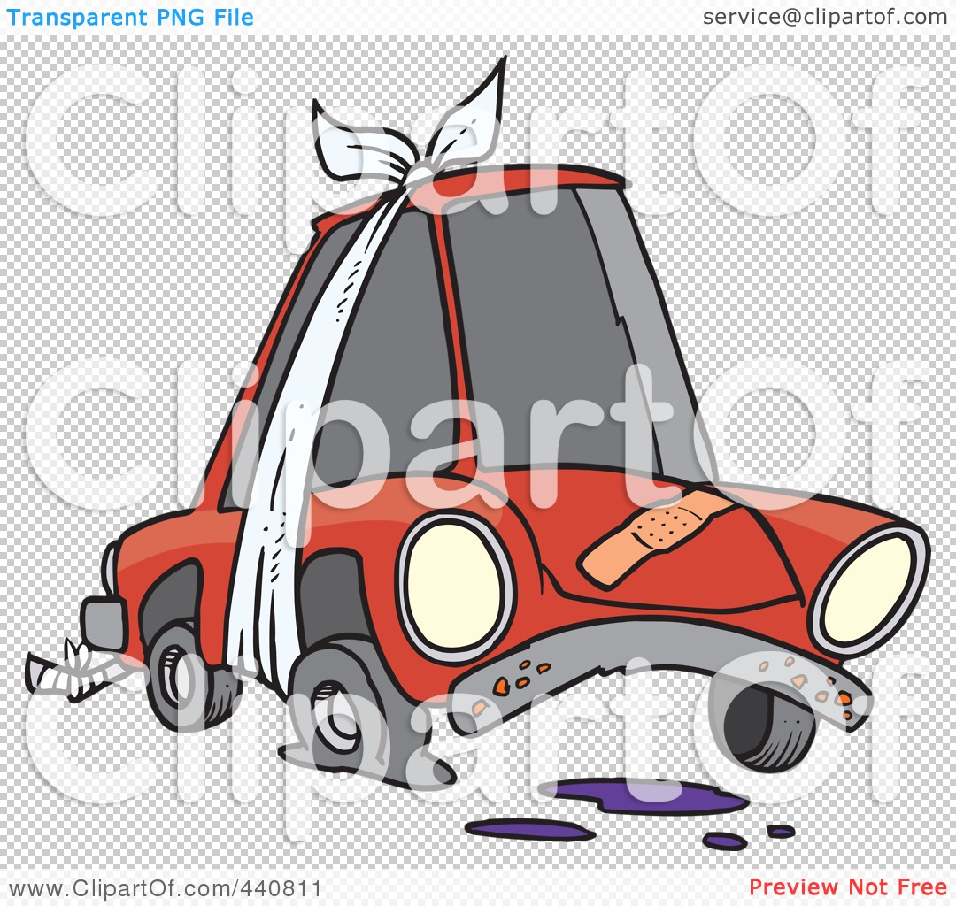 1080x1024 Royalty Free (Rf) Clip Art Illustration Of A Cartoon Beater Car