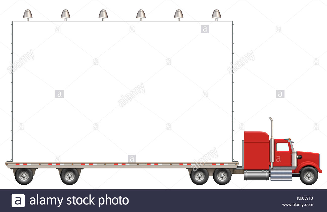 1300x843 Flatbed Truck Cut Out Stock Images Amp Pictures