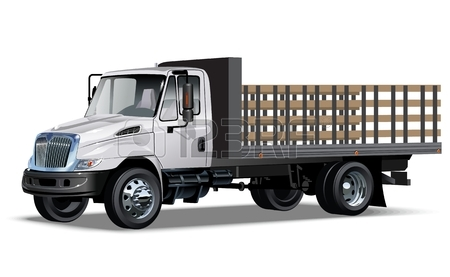 450x277 Flatbed Truck Stock Photos. Royalty Free Business Images