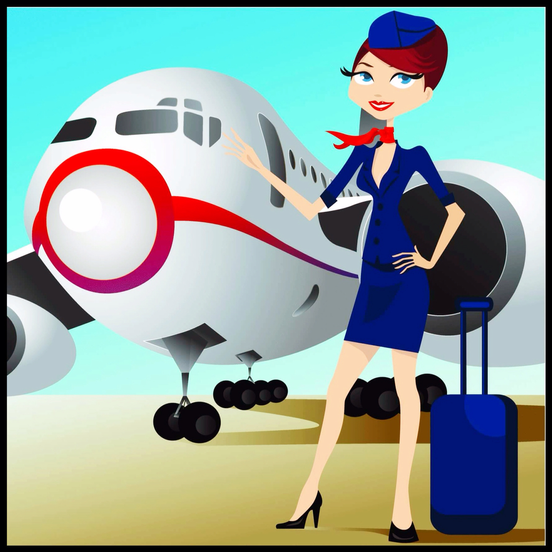 1136x1136 Flight Attendant. Airplanes Amp Stuff Flight Attendant