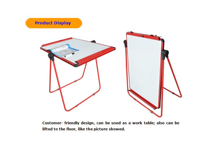 731x496 U Shape Flip Chart Drawing Board