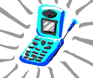300x250 Flip Phone (Drawing By Gah0x)