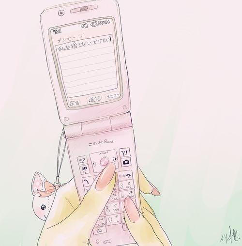 500x508 Pink Flip Phone Tumblr