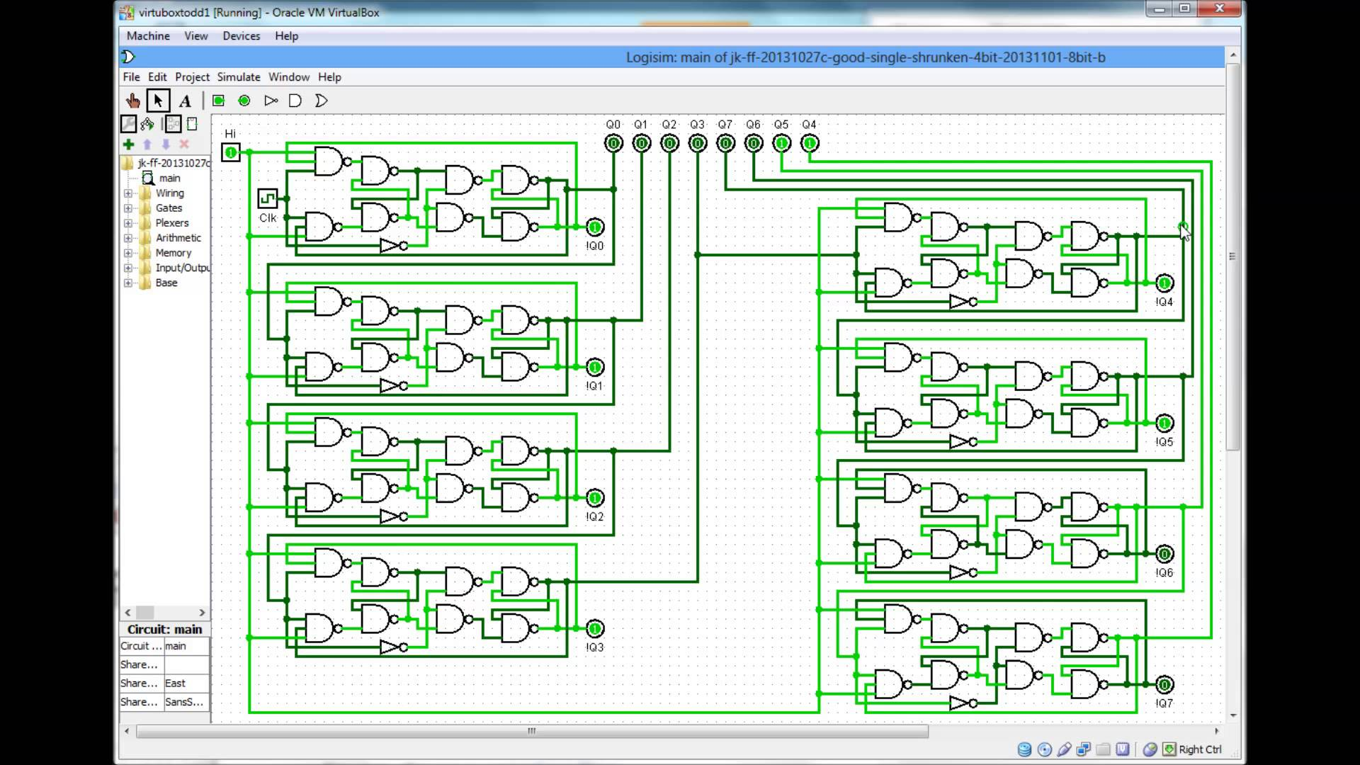 T Flip Flop Circuit Diagram Flipflop Drawing At Free For Personal Use 1920x1080 Digital Bit Nand Gated J K Ripple Counter Ace Appetite