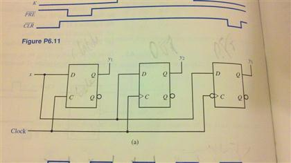 420x236 The Circuit Contains A D Latch, Positive Edge Trig