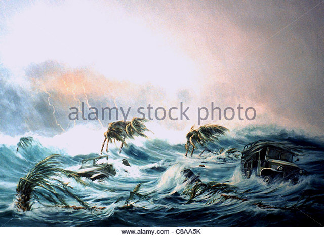 640x468 Disasters Floods Illustration Flood Drawing Stock Photos