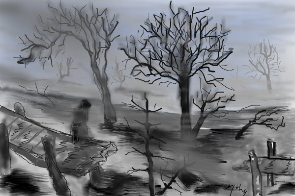 600x400 Fog And Flood A Other Speedpaint Drawing By Mahio2010