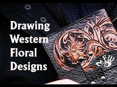 480x360 Drawing Western Floral Designs
