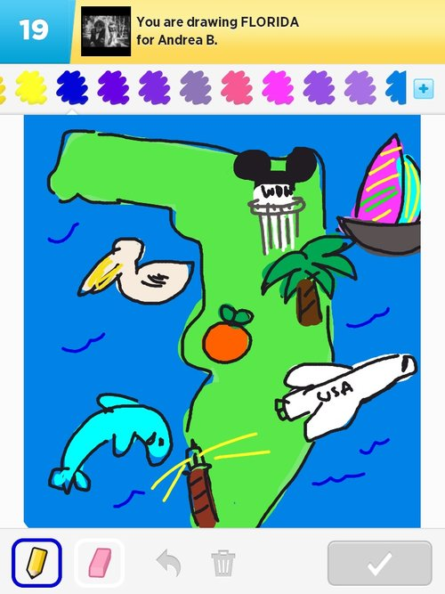 500x667 Florida Drawings