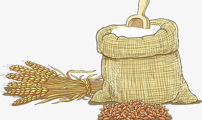 650x386 Wheat Hand Drawing, Flour, Sack, Wheat Png Image And Clipart