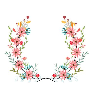 380x400 Banners Floral Frames And Graphic Elements Vector By Ngocdai86