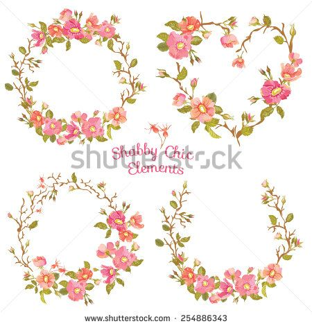 450x470 Stock Vector Flower Banners And Tags For Your Design And Scrapbook