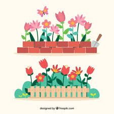 225x225 Image Result For Flower Bed Drawing Wall Art Drawings