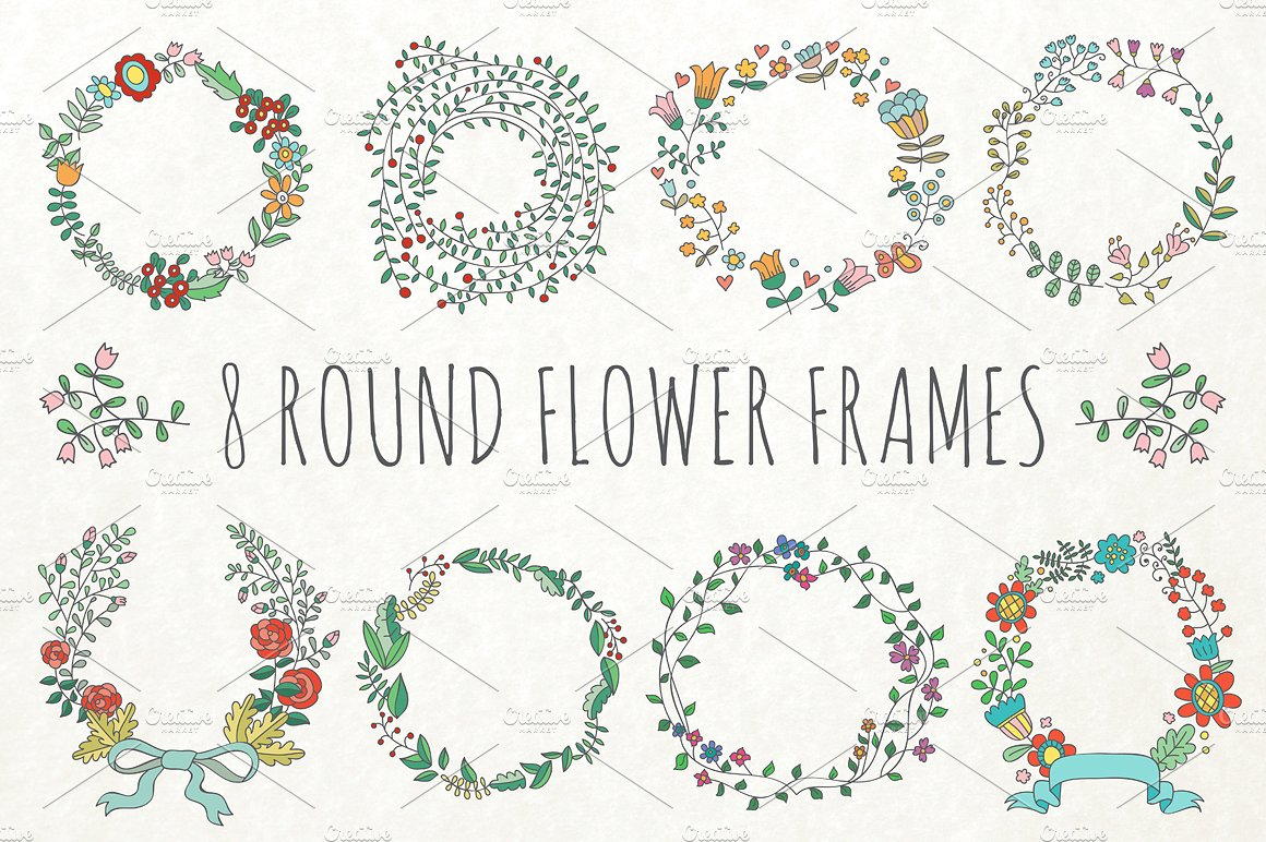 Flower Border Drawing at GetDrawings com | Free for personal