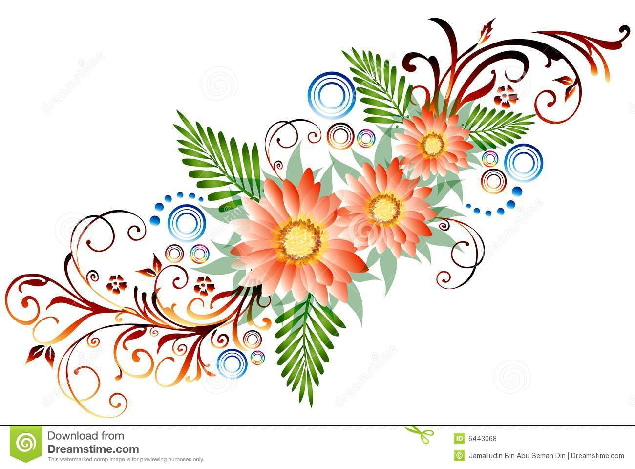 Flower border drawing at getdrawings free for personal use 1300x960 flower border drawing floral border stock illustration image izmirmasajfo