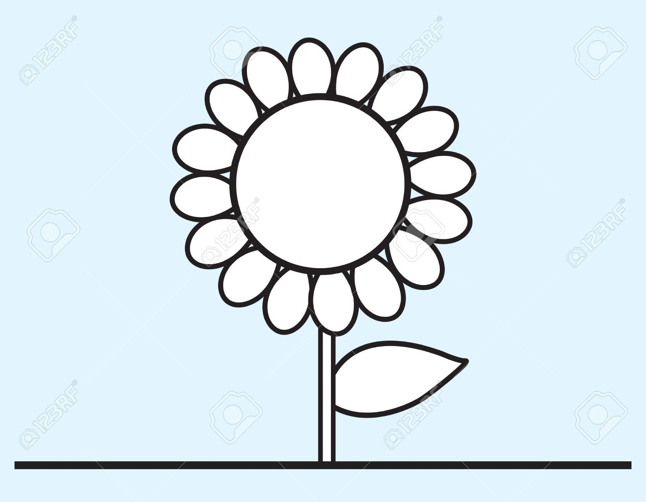 Flower cartoon drawing at getdrawings free for personal use 1300x1011 flower cartoon drawing royalty free cliparts vectors and stock mightylinksfo